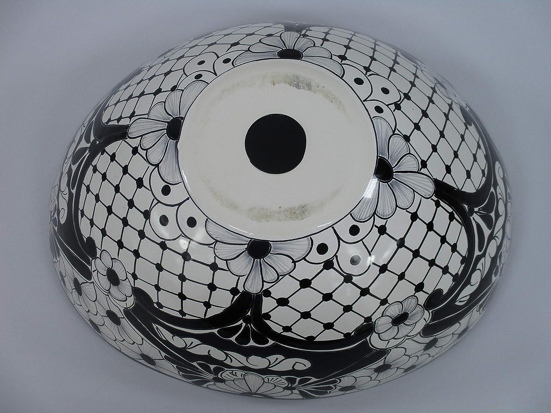 ghdonat.com 18 TALAVERA SINK oval vessel mexican bathroom handmade ...