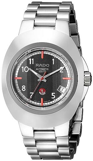 Rado R12637153 - Reloj para hombres, correa de acero inoxidable color gris: Amazon.es: Relojes