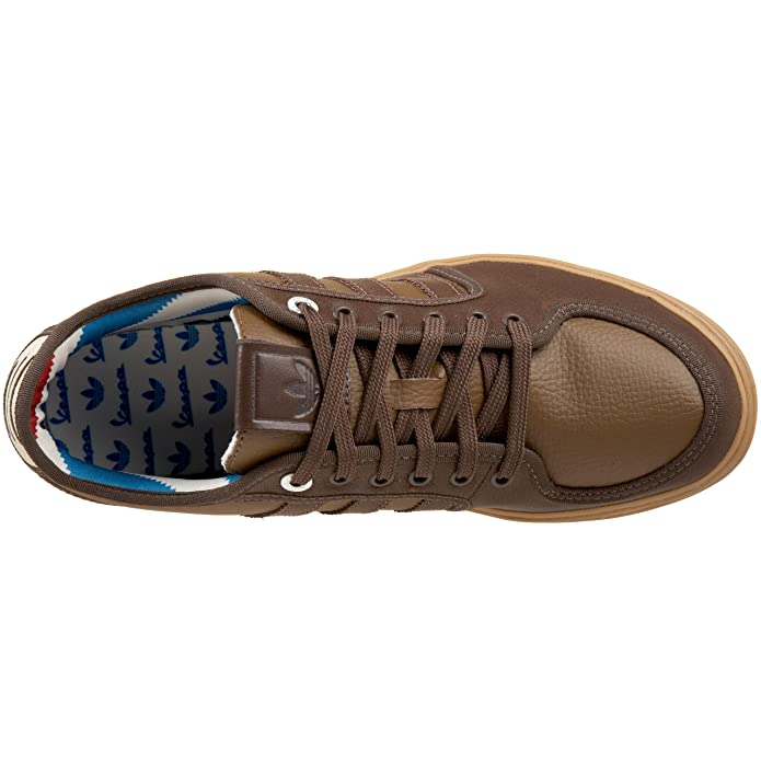 Amazon.com | adidas Originals Mens Vespa Px Sneaker, Espresso/Leather/Gum, 4 M | Fashion Sneakers