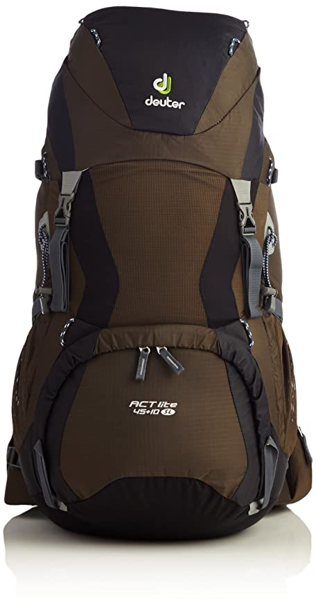 ankommen Sonderangebot farblich passend Deuter Damen Trekkingrucksack Act Lite SL Rucksack, Coffee-Black, 28 x 24 x  74 cm