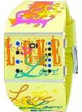 01TheOne Women's SLSL137B3 Slim Square Classic LED Watch