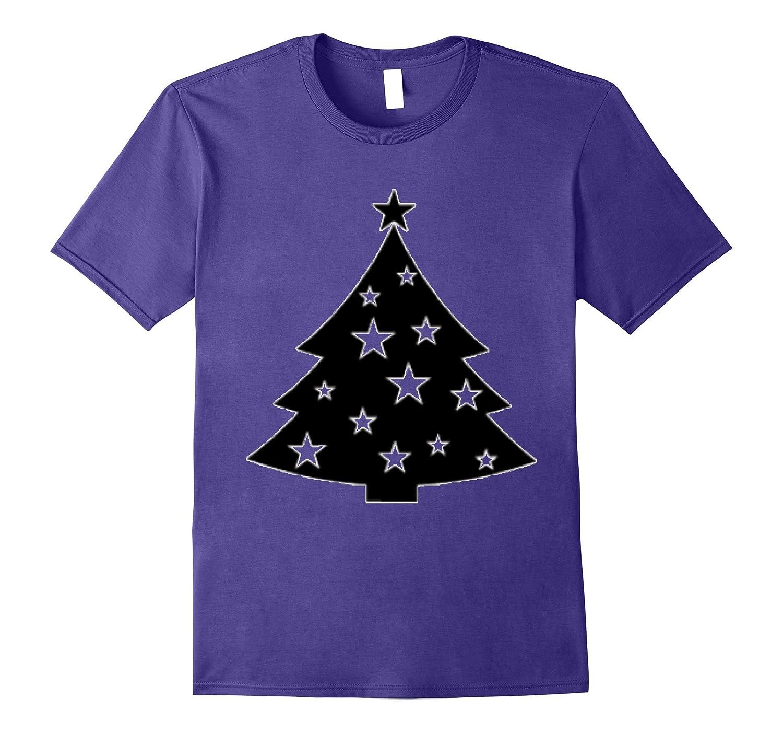 """Funny """"Christmas Tree"""" T-Shirt BLACK Shirt2"""