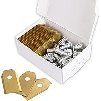 30x Titan Messer Klingen LONGLIFE geeignet für alle Husqvarna® Automower® / Gardena® Mähroboter - (3g - 0,75mm) + 30 Schrauben - Diese Ersatzmesser passen für 105, 310, 315, 320, 420, 430x, r40i uvm