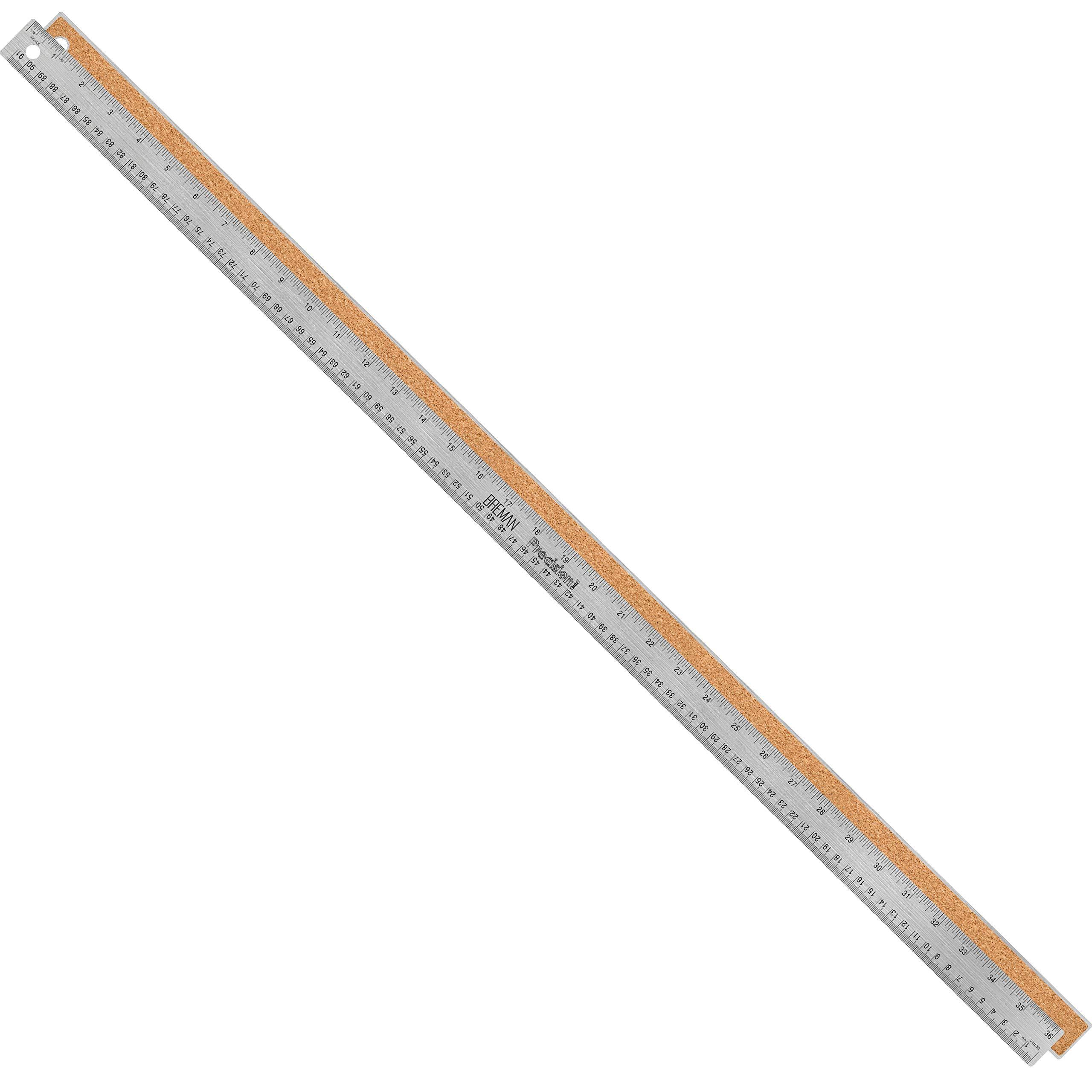 Breman Precision Stainless Steel Metal Rulers