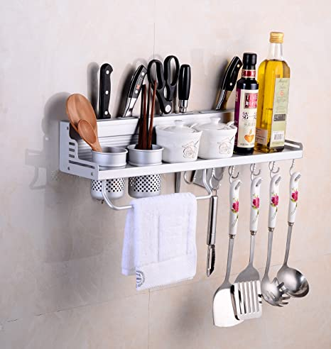 Multifunktions Küche Rack Organizer Regale - Wand hängende ...