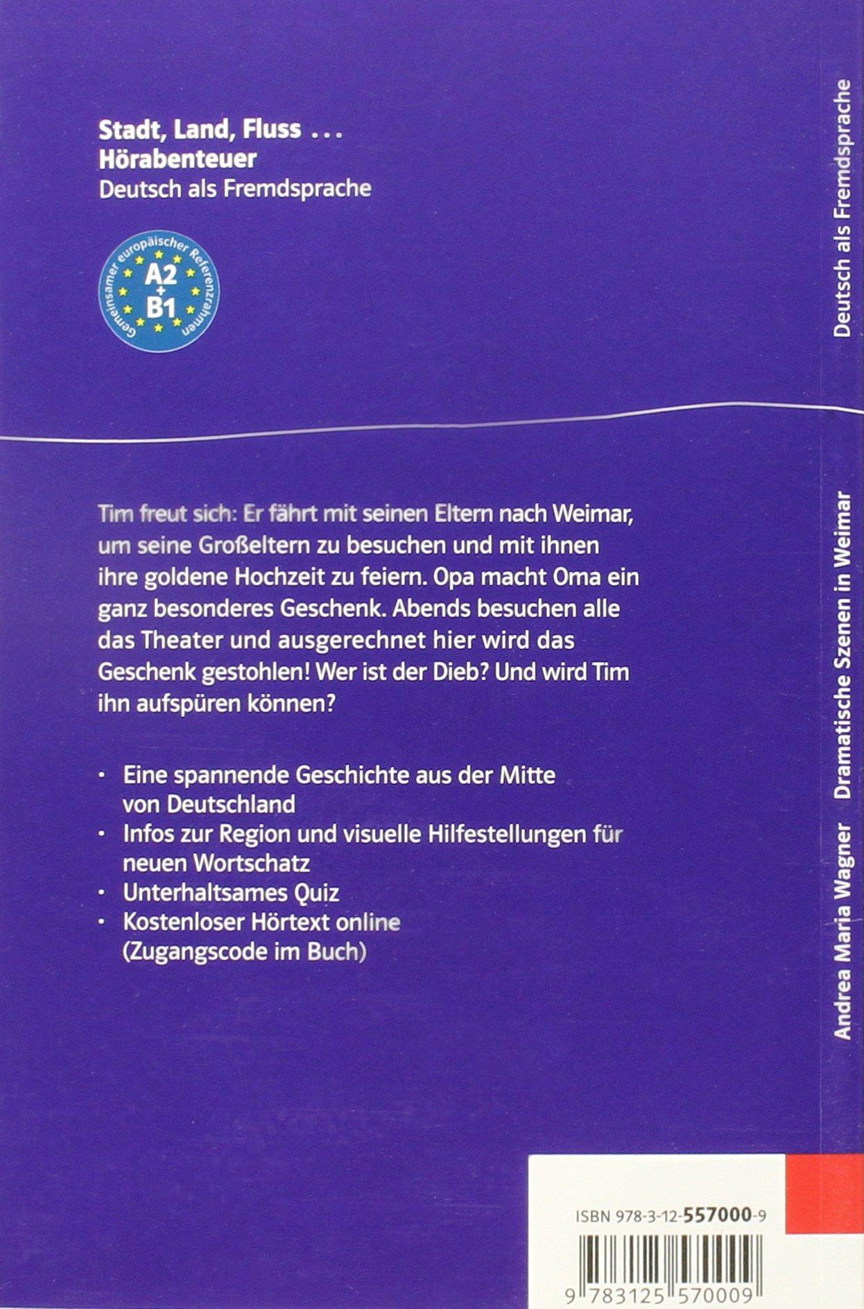Dramatische Szenen in Weimar - Buch & Audio-Online: Andrea Maria ...