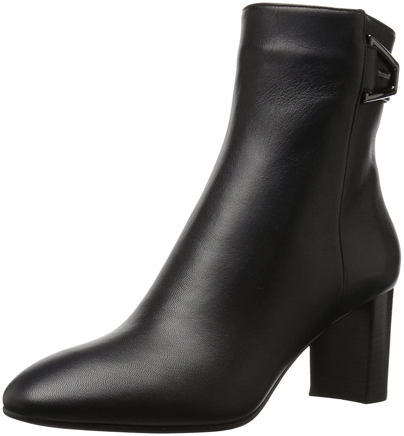 Aquatalia by Marvin K. Women's Venezia Grainy Calf Ankle Boot B06XP3298K 7 M M US|Black
