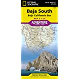 Baja South: Baja California Sur [Mexico] (National Geographic Adventure Map, 3104)