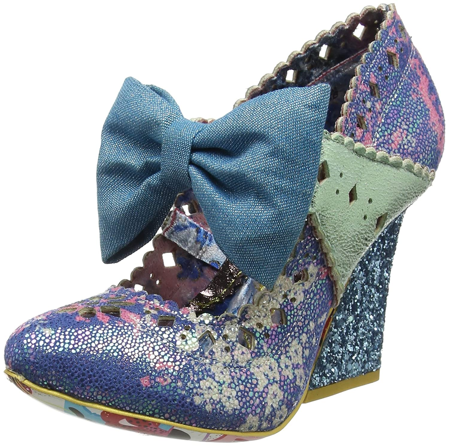 Irregular Choice Primrose Hill, Mary Jane DonnaBlu (Blue A)