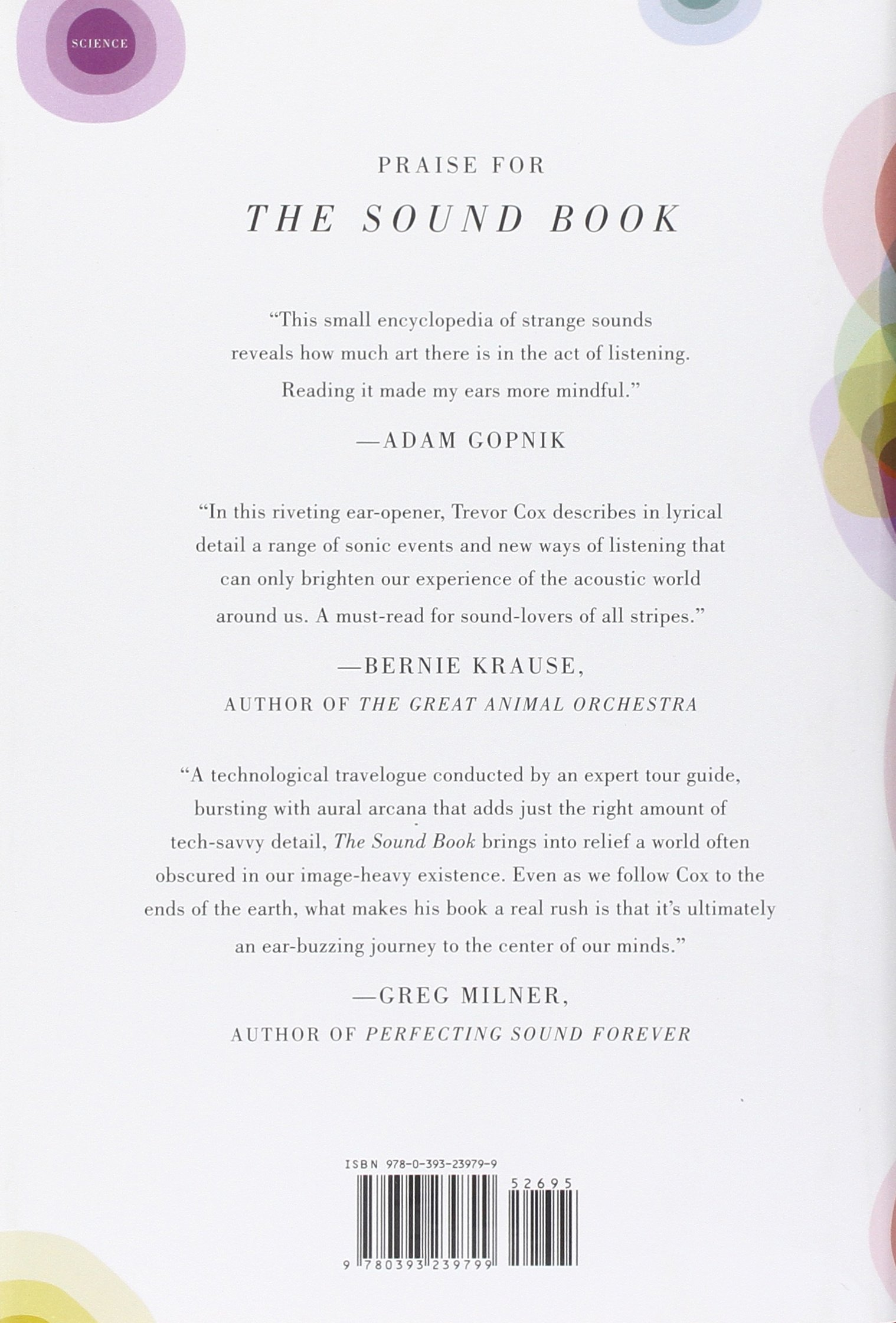 The Sound Book: The Science of the Sonic Wonders of the