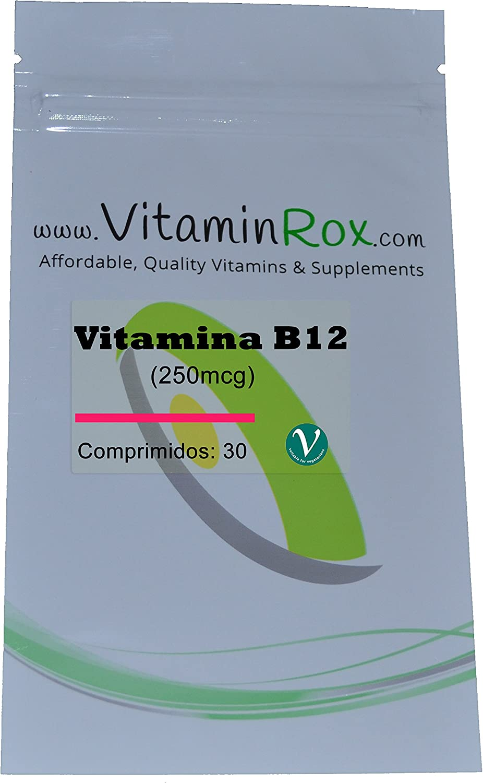 Vitamina B12 [250mcg] - 30 Comprimidos [Vitamin B12]