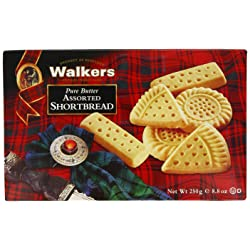3-Pack Walkers Assorted Shortbread - 250g
