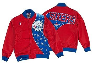 Mitchell & Ness Philadelphia 76ers Authentic 93-94 Warmup Premium Jacket