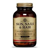 Solgar Skin, Nails & Hair, Advanced MSM Formula, 120 Tablets - Supports Collagen...