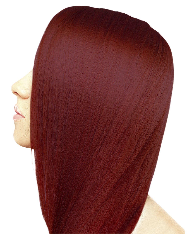 Amazon Ion 7ir Medium Intense Red Blonde Permanent Creme Hair