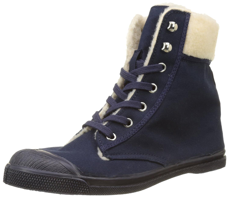 Bensimon F15243C20A, Zapatillas Altas Mujer 40 EU Azul (Marine)