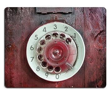 MSD Mousepad de goma natural imagen 25701274 Close Up de Vintage máquina de escribir teclas vintage retro, color 7592: Amazon.es: Oficina y papelería