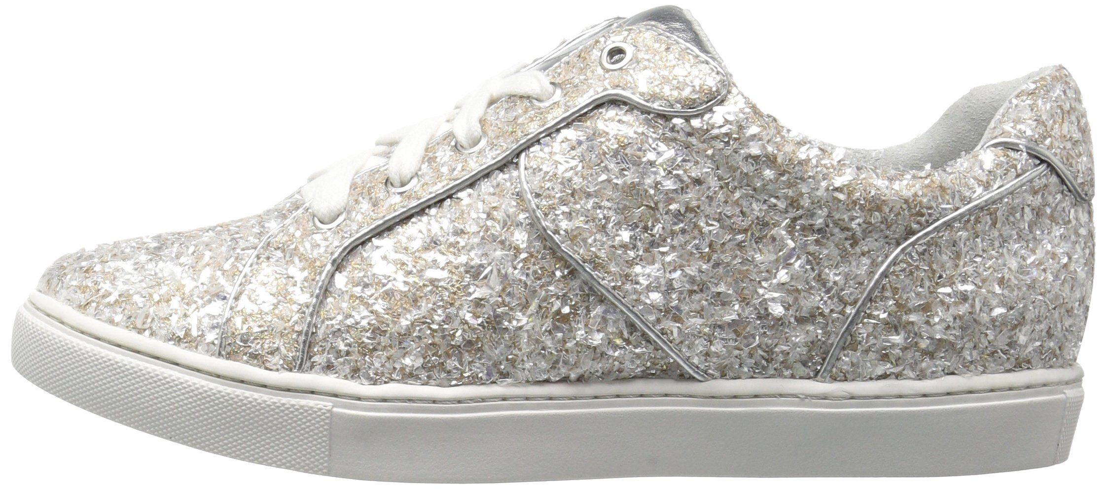The Fix Women's Tawny Lace-up Fashion Sneaker, Silver Ice, 7.5 B US by The Fix (Image #5)