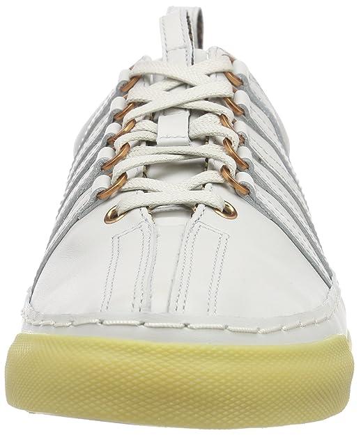 Mens Arlington VT~White/Light Gum~M Low-Top Sneaker K-Swiss 73ztgW