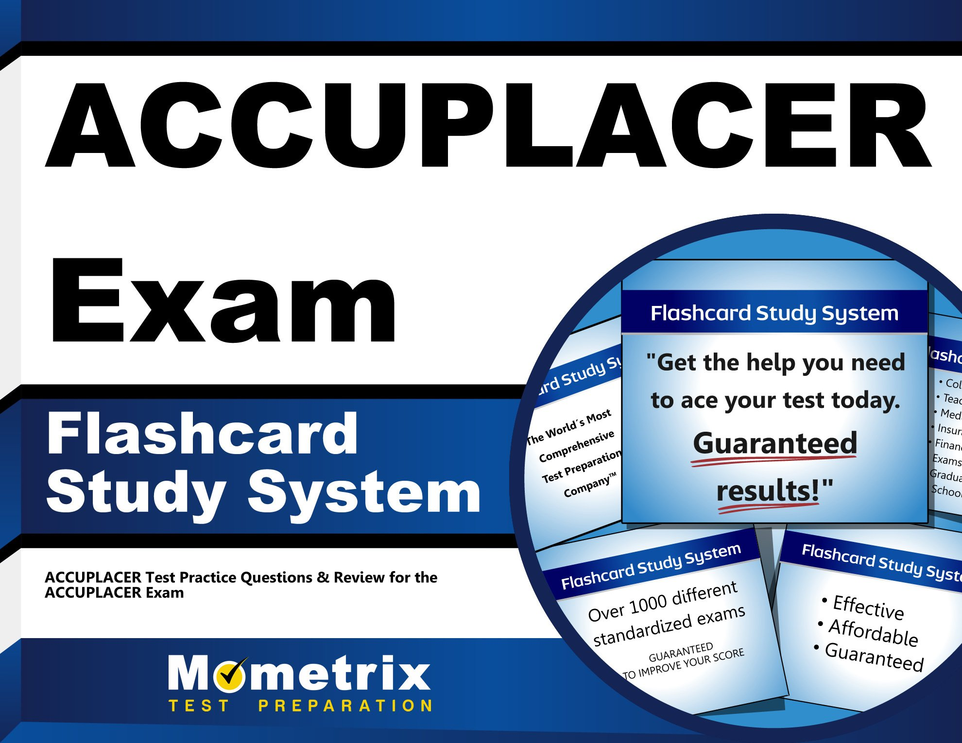 ACCUPLACER Exam Flashcard Study System: ACCUPLACER Test Practice ...