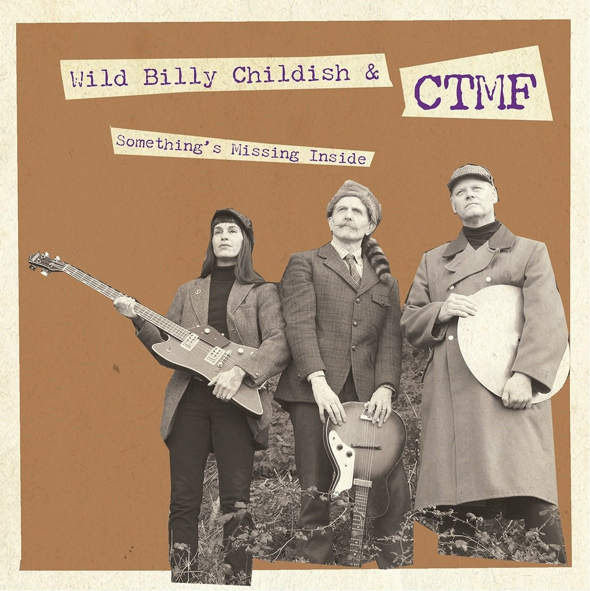 Cassette : CHILDISH, BILLY - Something's Missing Inside (7 Inch Single)