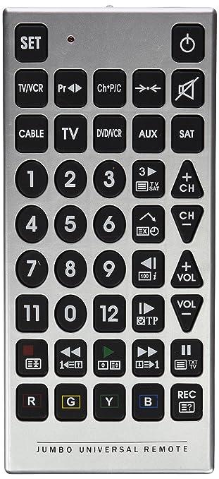 Fx Control Universal Remote Control Jumbo 4 Amazon Electronics