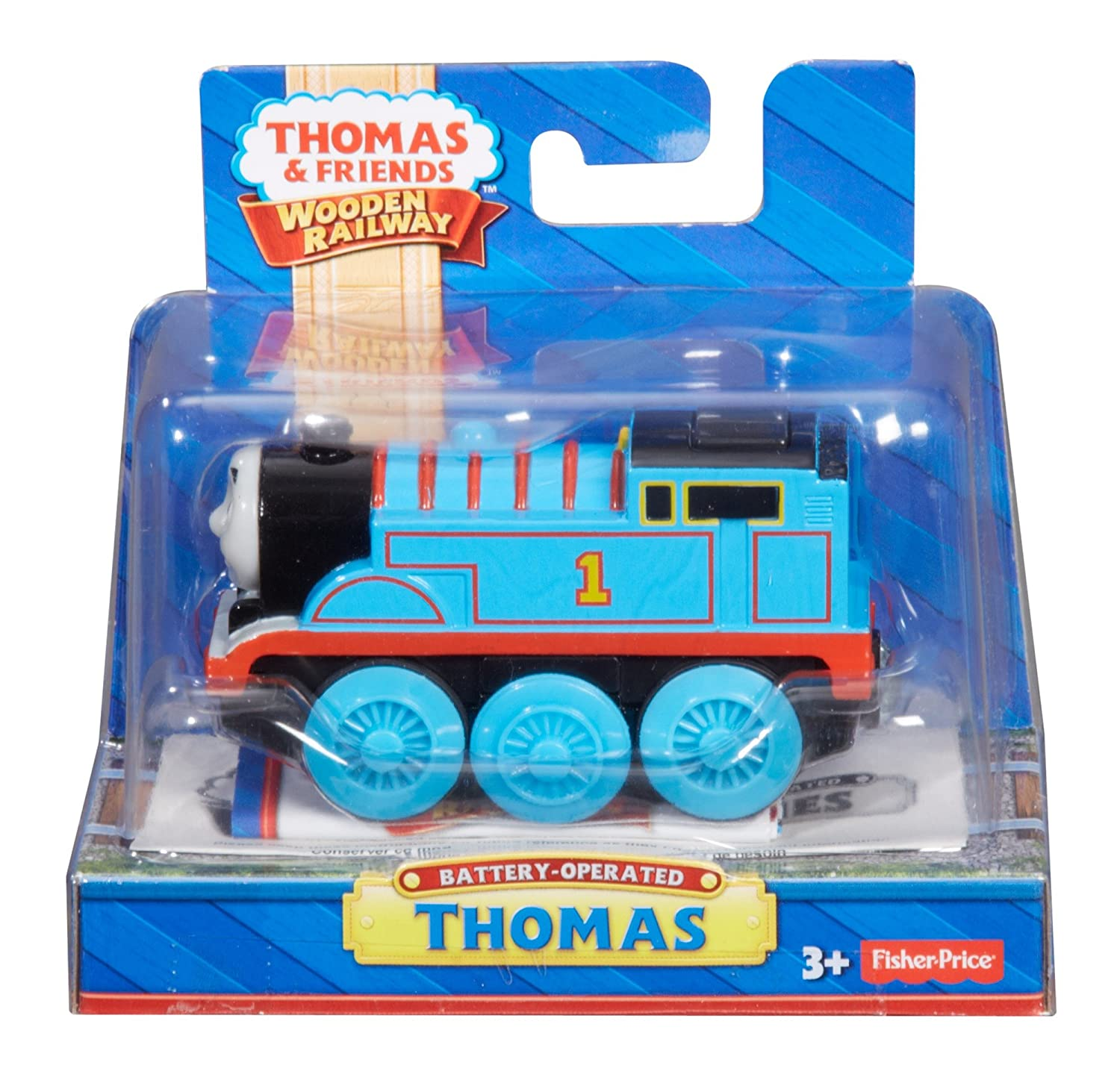 Fisher Price Thomas Friends Wooden Railway Train Thomas Battery Operated Train