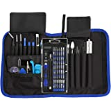 81 in 1 Professional Electronics Magnetic Driver Kit with Portable Bag for Laptop, iPhone, iPad, Cellphone, PC, Computer,iPod,Repair Tools Kit, Precision Screwdriver Set with Flexible Shaft