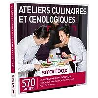 SMARTBOX - Coffret Cadeau - ATELIERS CULINAIRES ET ŒNOLOGIQUES - 570 ateliers : cours, ateliers, dégustations, visites de vignobles