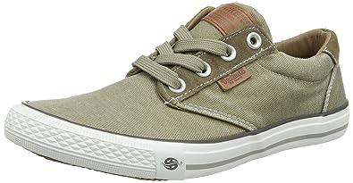 Mens 30st027-790320 Low-Top Sneakers, Green, 8 UK Dockers by Gerli