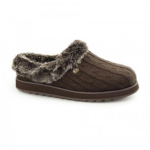 Skechers Zapatillas de estar Por casa Abiertas Modelo Keepsakes Para Mujer: Amazon.es: Zapatos y complementos