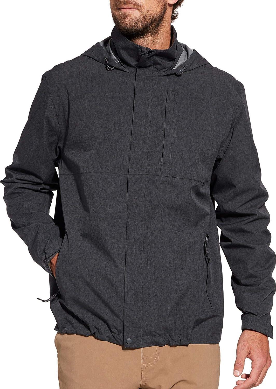 Yayu Mens Packable Hoodie Winter Warm Comfy Fleece Jacket Outwear