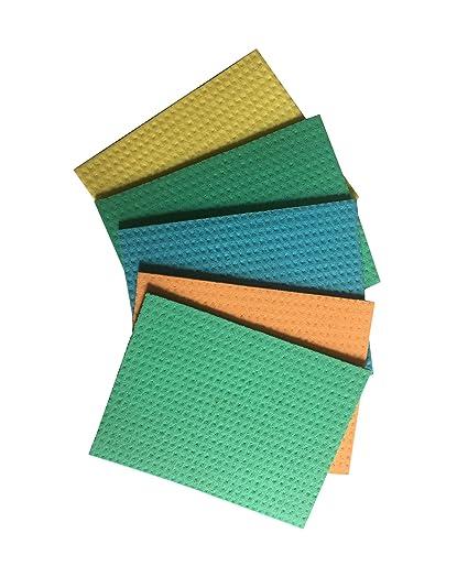 Brite Guard Cellulose Cleaning Sponge Mop 16x20 cms (5 Pieces)