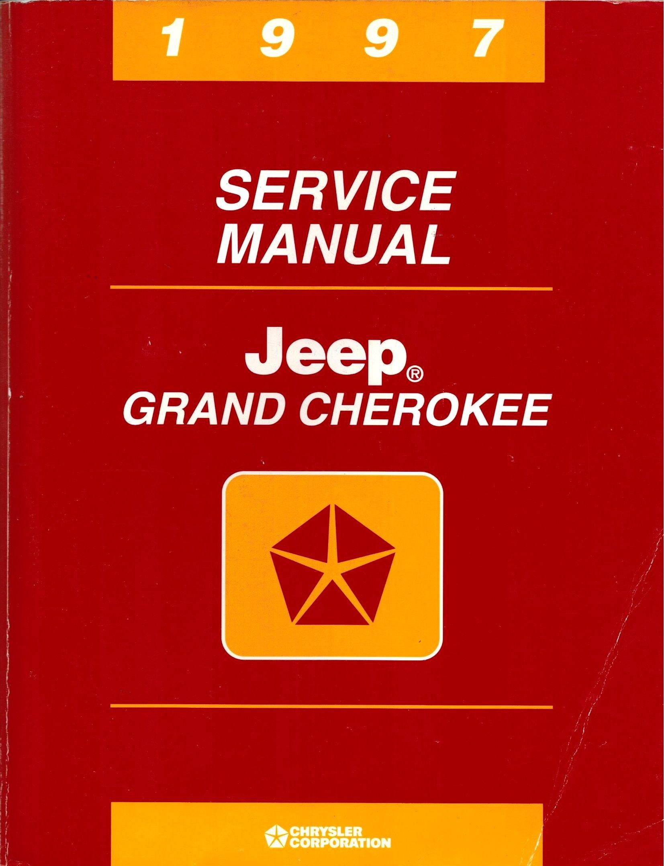 1997 Jeep Grand Cherokee Service Manual 97 Paperback – 1996