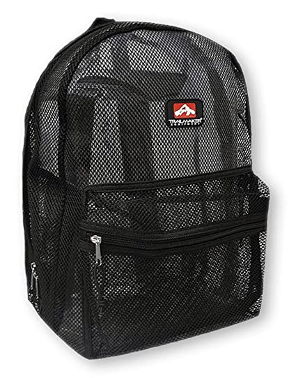 1b6206661b61 Amazon.com  Trailmaker Mesh Backpack (Black)  Sports   Outdoors