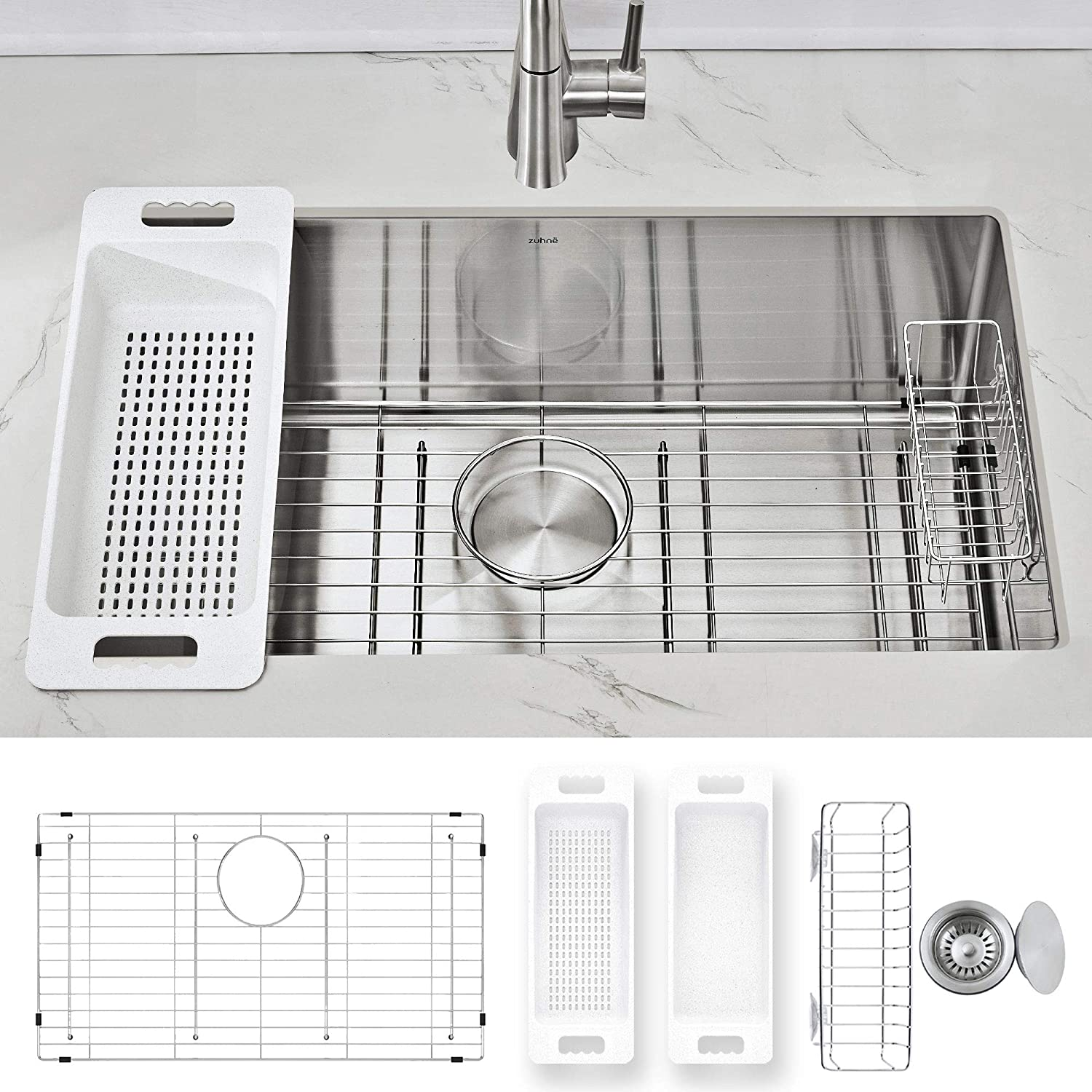 Best Undermount Kitchen Sinks for Granite Countertops | Reviews & Buying Guide Updated April-2021