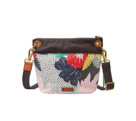Fossil Women's Keely Crossbody Floral Crossbody Bag