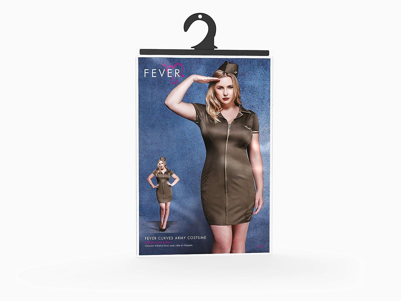 b1e34a6057f95 Amazon.com: Smiffys Fever Women's Plus Size Army Costume: Clothing