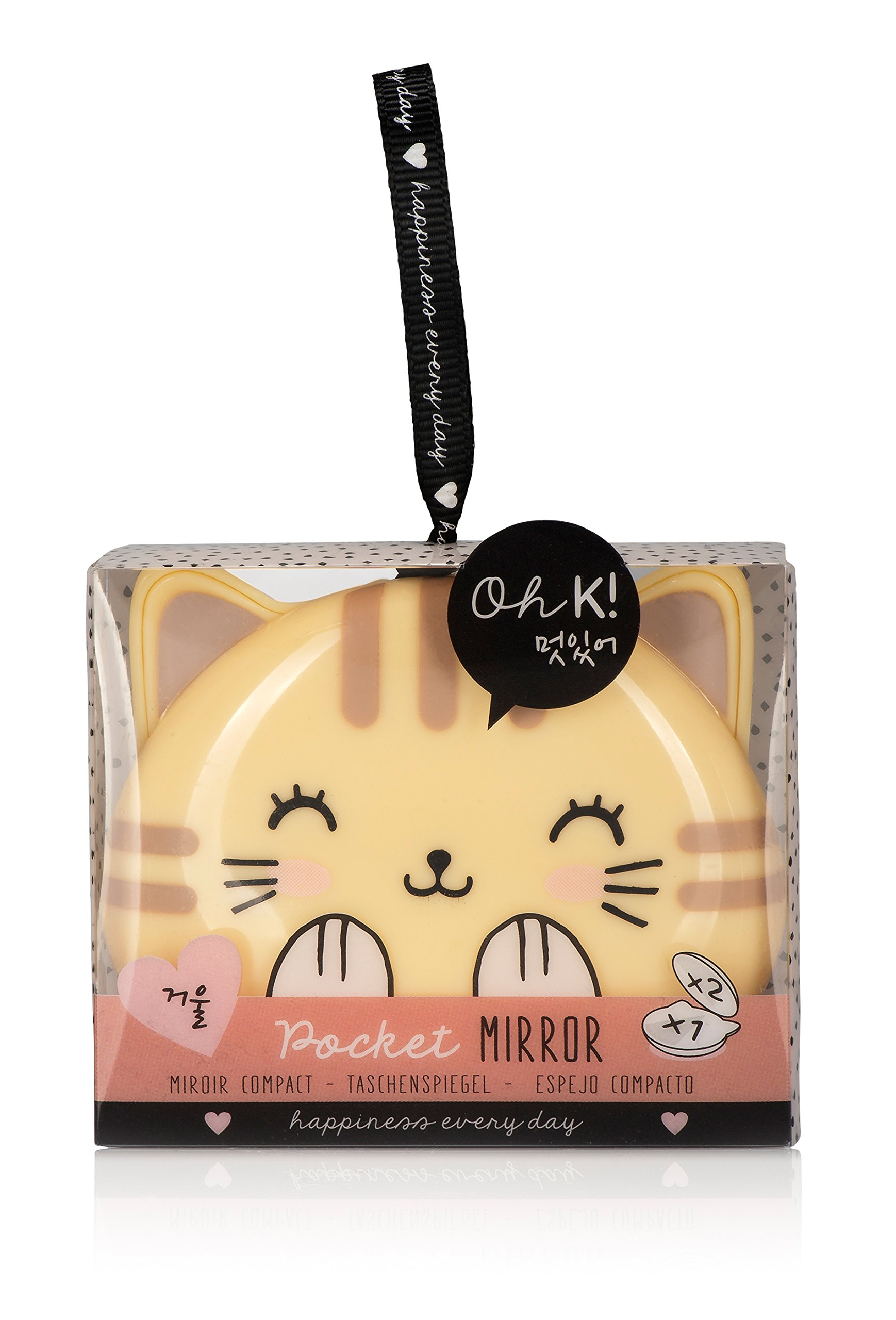 Oh K! Korean Kitty Pocket Compact Mirror