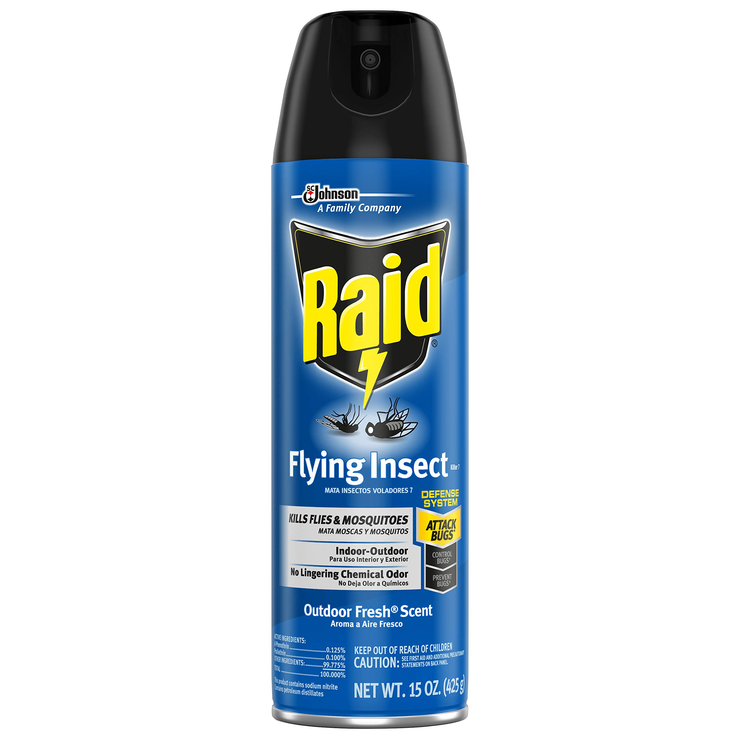 Raid Flying Insect Killer, 15 OZ (Pack - 3)