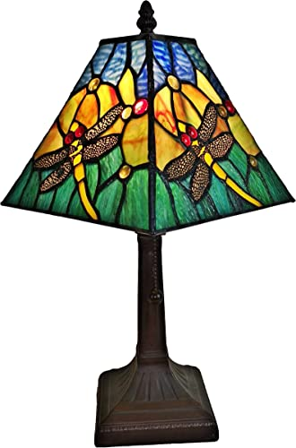 Meyda Tiffany 10182 Pond Lily Lamp Shade, 4 Width x 6 Height, Green