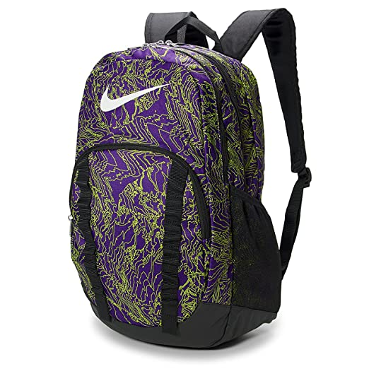 Nike Brasilia 7 backpack graphics XL Court Purple (Court Purple) Casual  Backpacks 967e5e99fd124