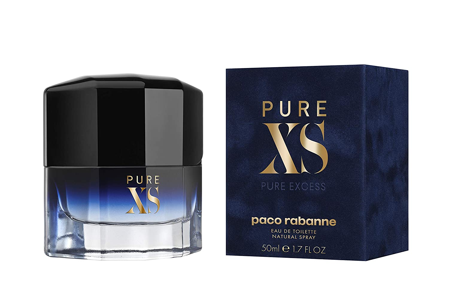 Amazon.com: Pure XS by Paco Rabanne Eau de Toilette Spray 50ml: PACO RABANNE: Health & Personal Care