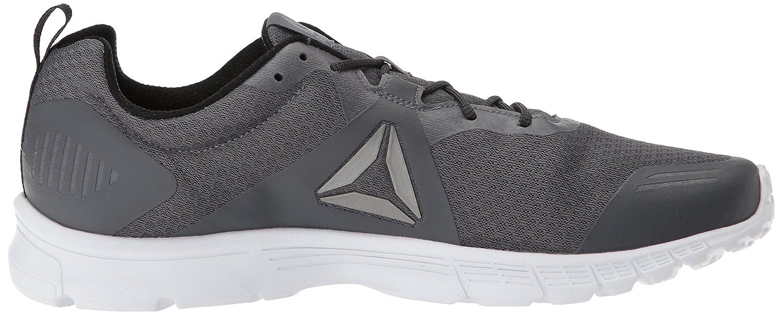 bfa86705791 Reebok Men s Run Supreme 4.0 Sneaker Ash Gray   Flint Gray   Solar Green    White   Pewter