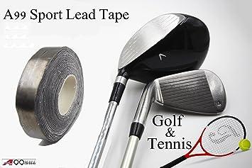 A99 Cinta de plomo para palos de golf, autoadhesiva, añade ...
