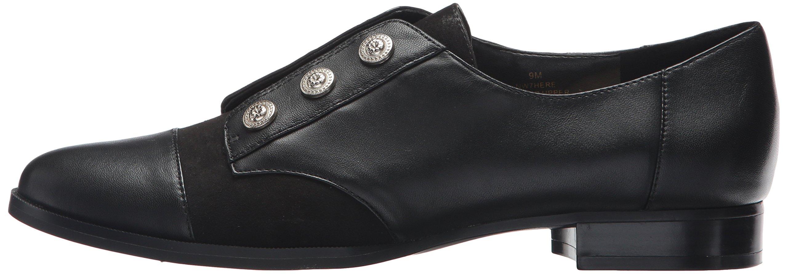 Nine West Women's Here Leather Uniform Dress Shoe, Black/Multi Leather, 5 M US by Nine West (Image #5)