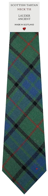 Mens Tie All Wool Made in Scotland Lauder Ancient Tartan