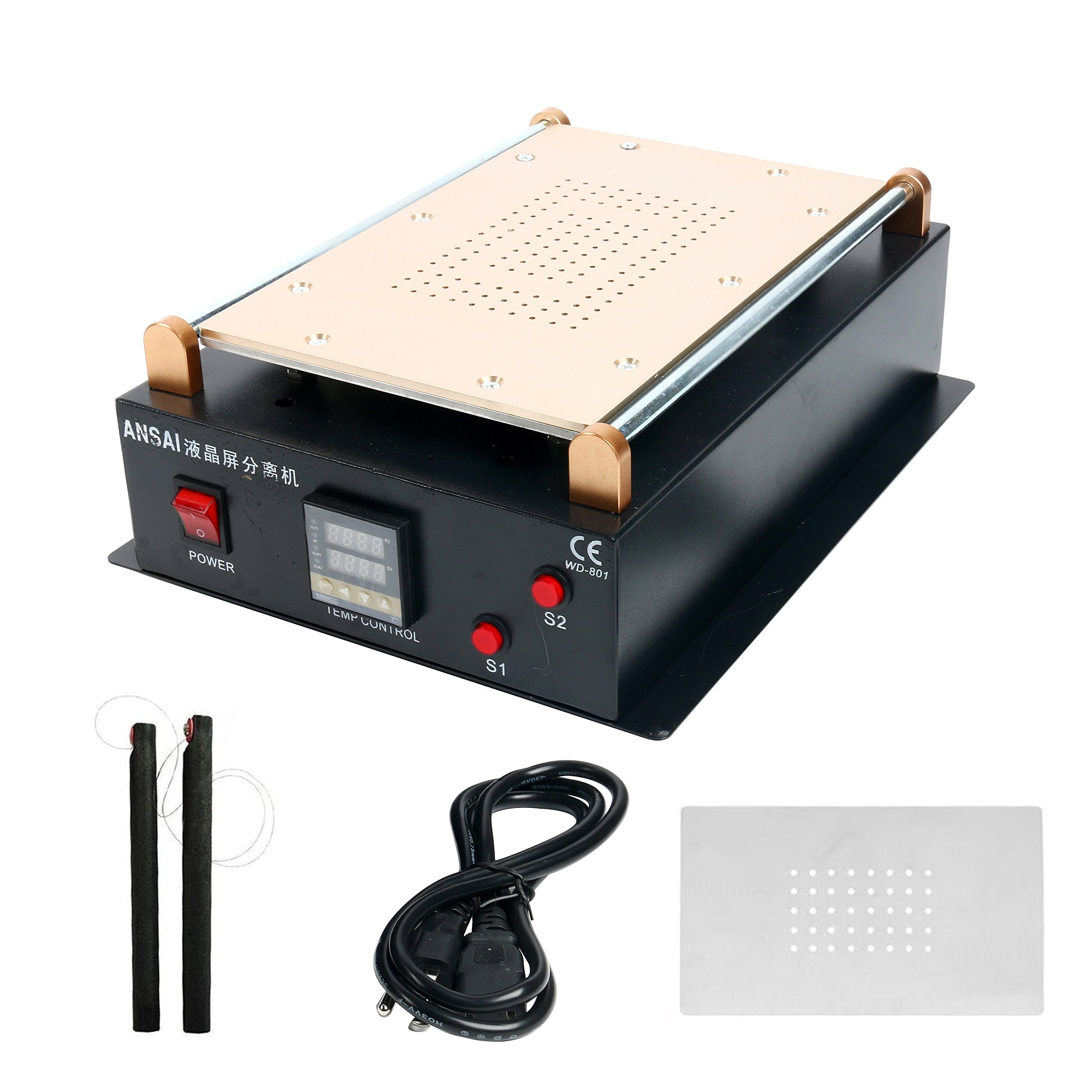 14inch LCD Screen Separator Machine, LCD Separator, Screen Separating Machine, Built-in Vacuum Machine for Ipad Air 1 2 LCD Screen Repair