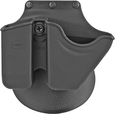 New Fobus CU9 Combo Pouch Handcuffs /& 9mm SIG Magazine Paddle /& Belt Mounted