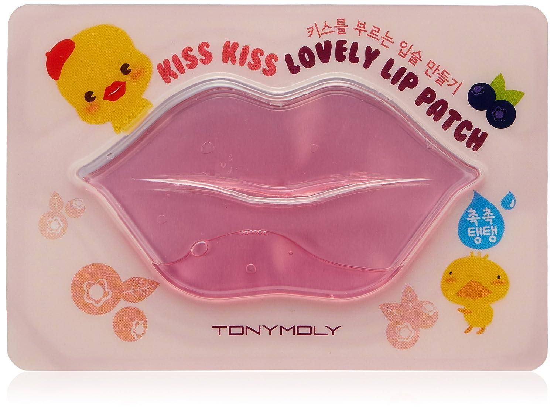Tony Moly Beso beso remiendo de labios precioso - máscara labial 8806358574802
